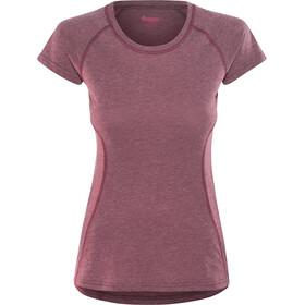Bergans Cecilie Kortærmet T-shirt Damer pink
